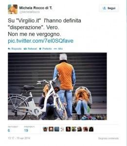 """Michela Rocco di Torrepadula e il tweet """"disperato"""": """"E' vero, non me ne vergogno"""""""