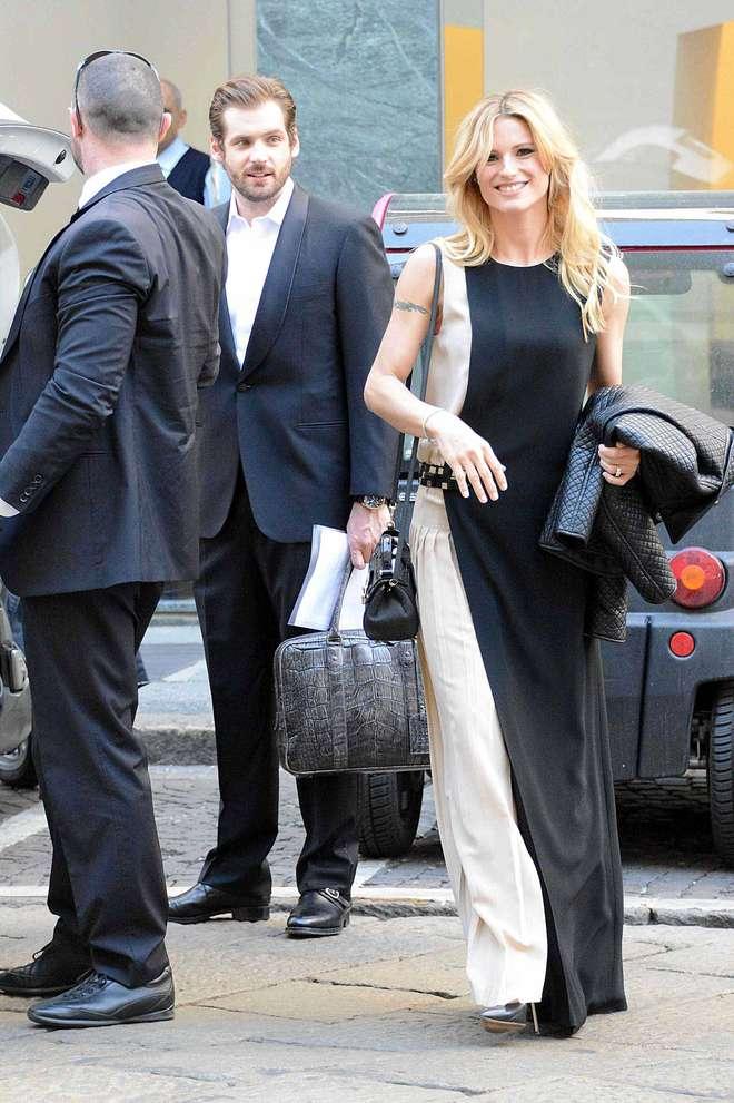 Aereo Privato Hunziker : Michelle hunziker e tomaso trussardi vacanze viaggi con