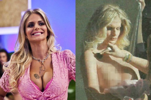 Francesca Cipriani Backstage Calendario.Francesca Cipriani Hot Nuda Per Il Nuovo Calendario Mentre
